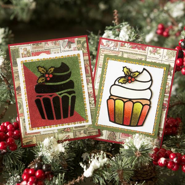 _Stunning Glitter Cards