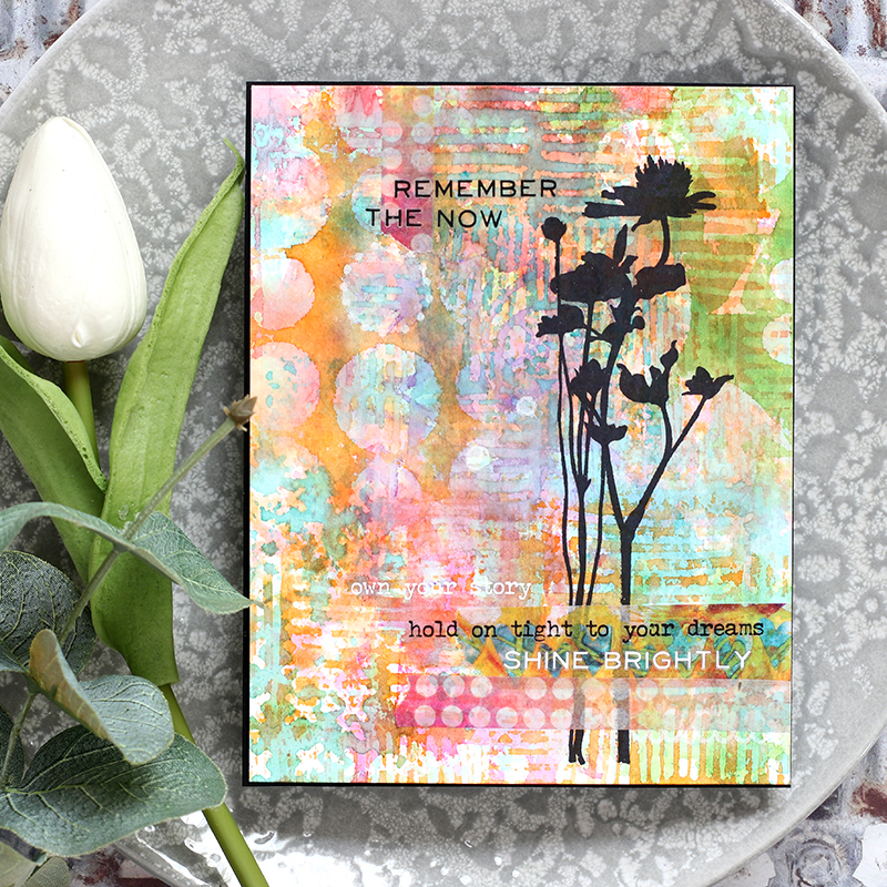 Art Journal Style Card