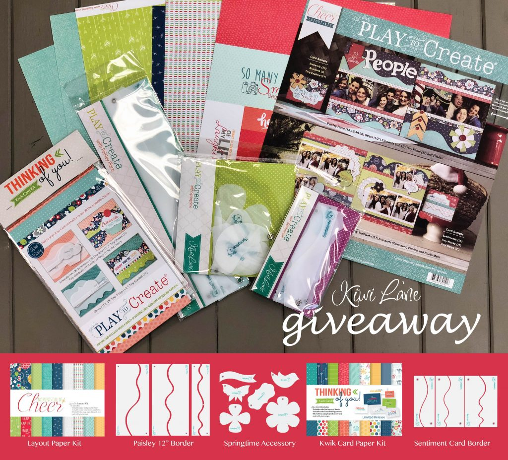 Freebie Friday with Kiwi Lane on the Stamp & Scrapbook Expo blog #ssbe2018 #ssbeblog #kiwilane #giveaway #scrapbooking #cardmaking