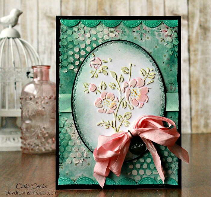 Reverse Embossing Paste Coloring