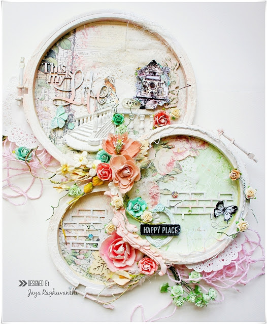 Altered Embroidery Hoop