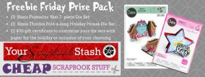 Freebie Friday Prize from Your Scrapbook Stash