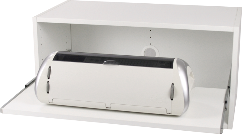 Cube-32-inch-Traditional-horizontal-with-slide-out-shelf-and-cricut