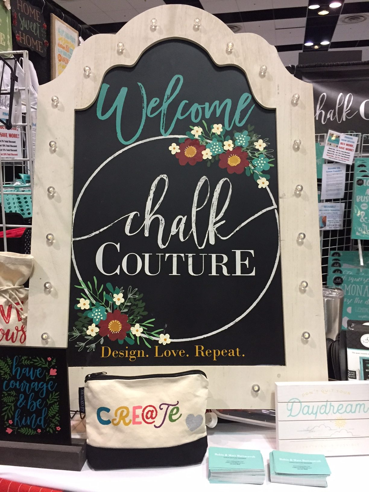 Chalk Couture Craft Show