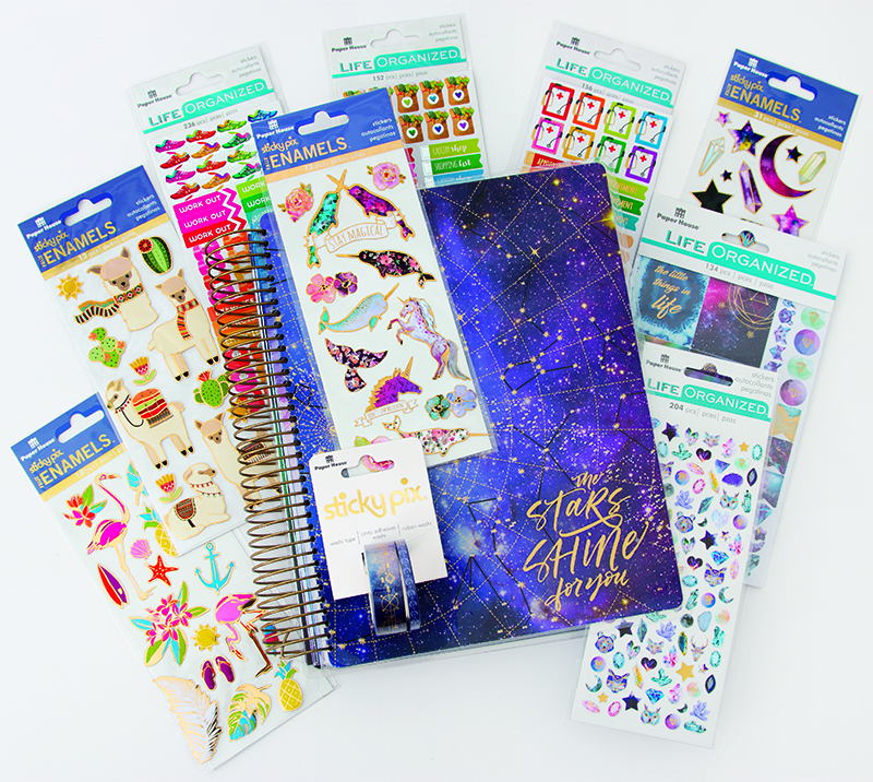 Stargazer Planner Prize Bundle from Paper House for Freebie Friday