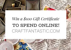 Craft Fantastic Freebie Friday Prize