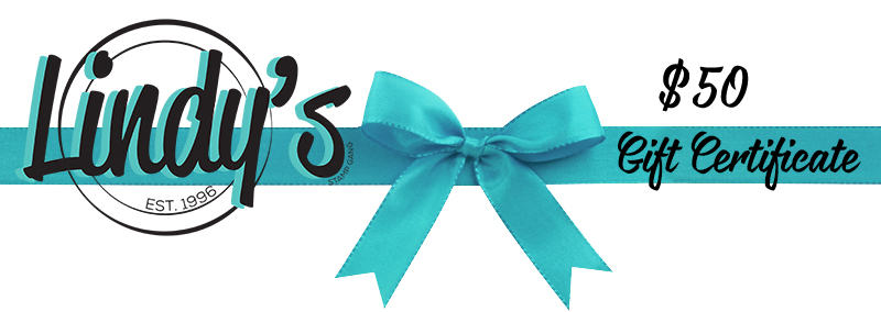 Lindy's Gang gift certificate $50