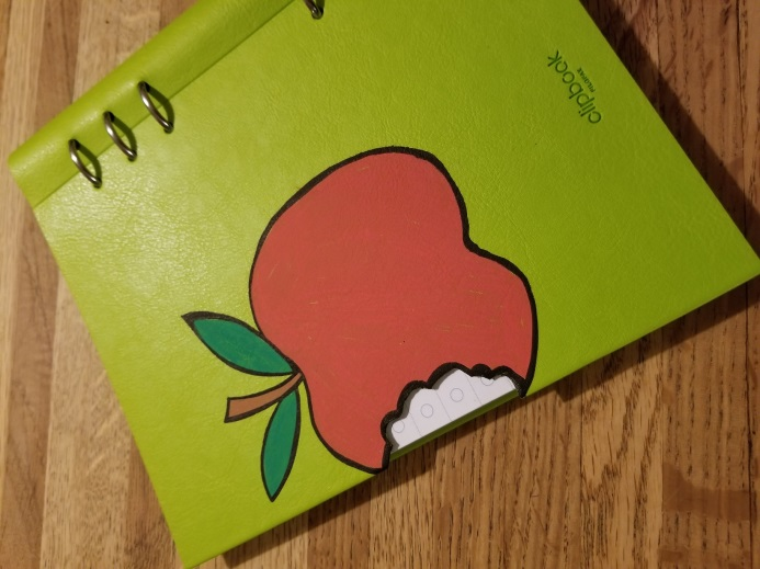 Filofax Clipbook Apple