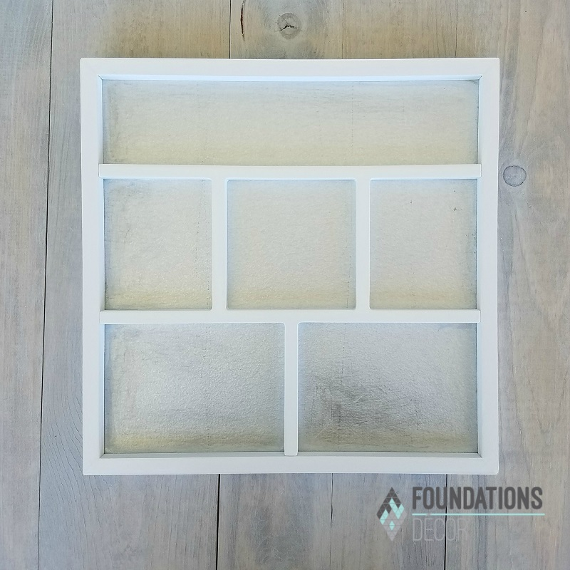 Foundations Decor 02601-1 Shadow Box White
