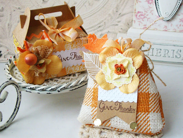 Burlap Bag & Gift Box