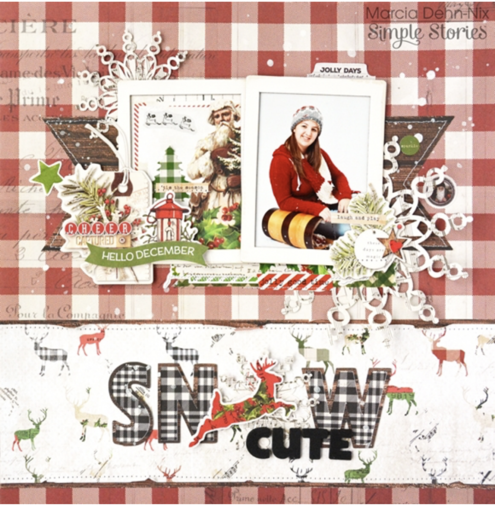 Simple Stories Hello December