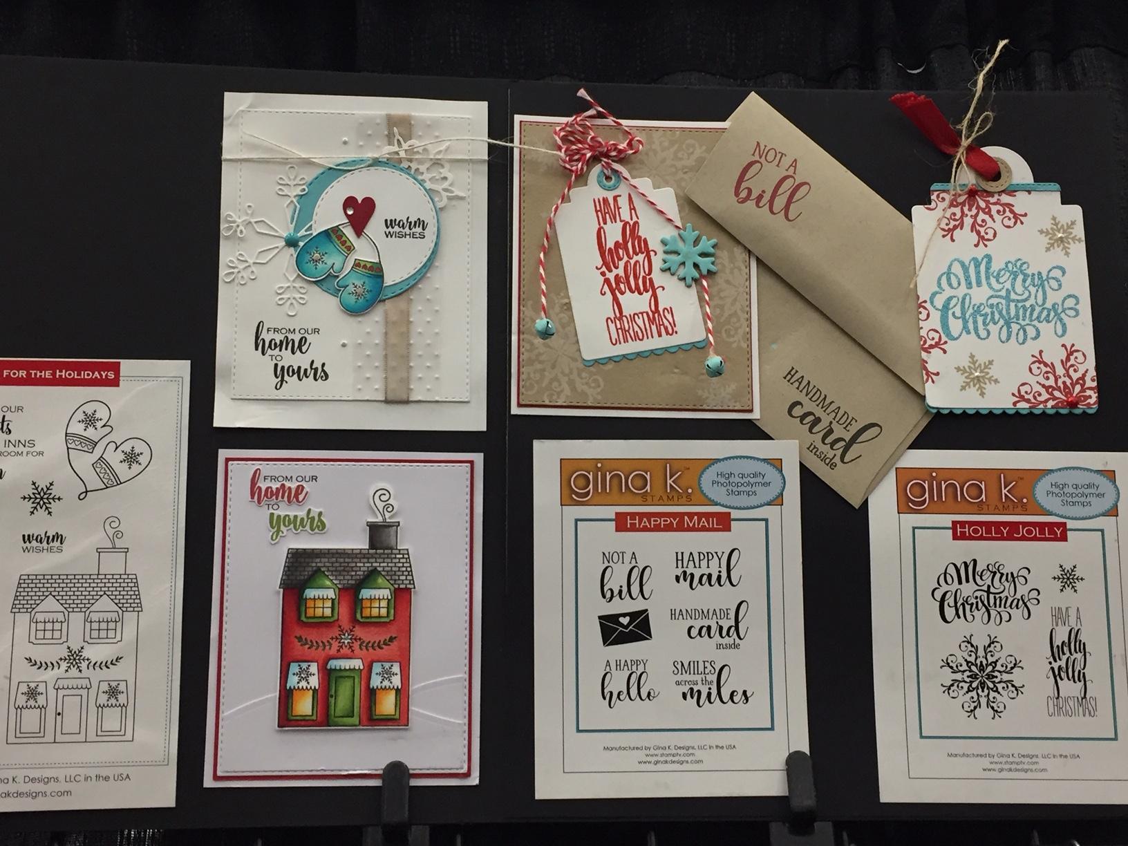 Craft Fancy Gina K Samples Stamp Scrapbook Expo