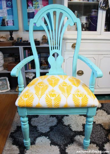 Revamp An Old Chair Using Stencils