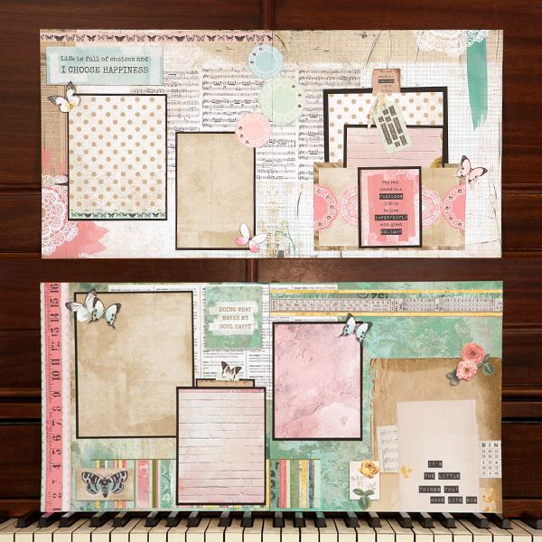 _Choose Happiness Four-Page Layout