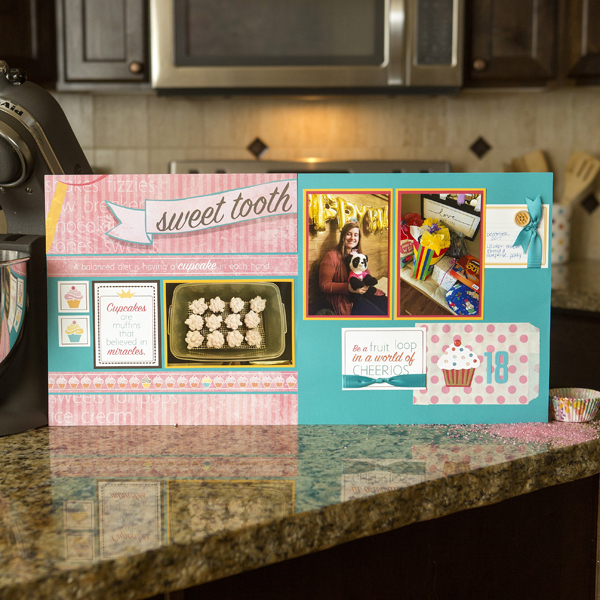 _Efficient Scrapbooking - Sweet Tooth