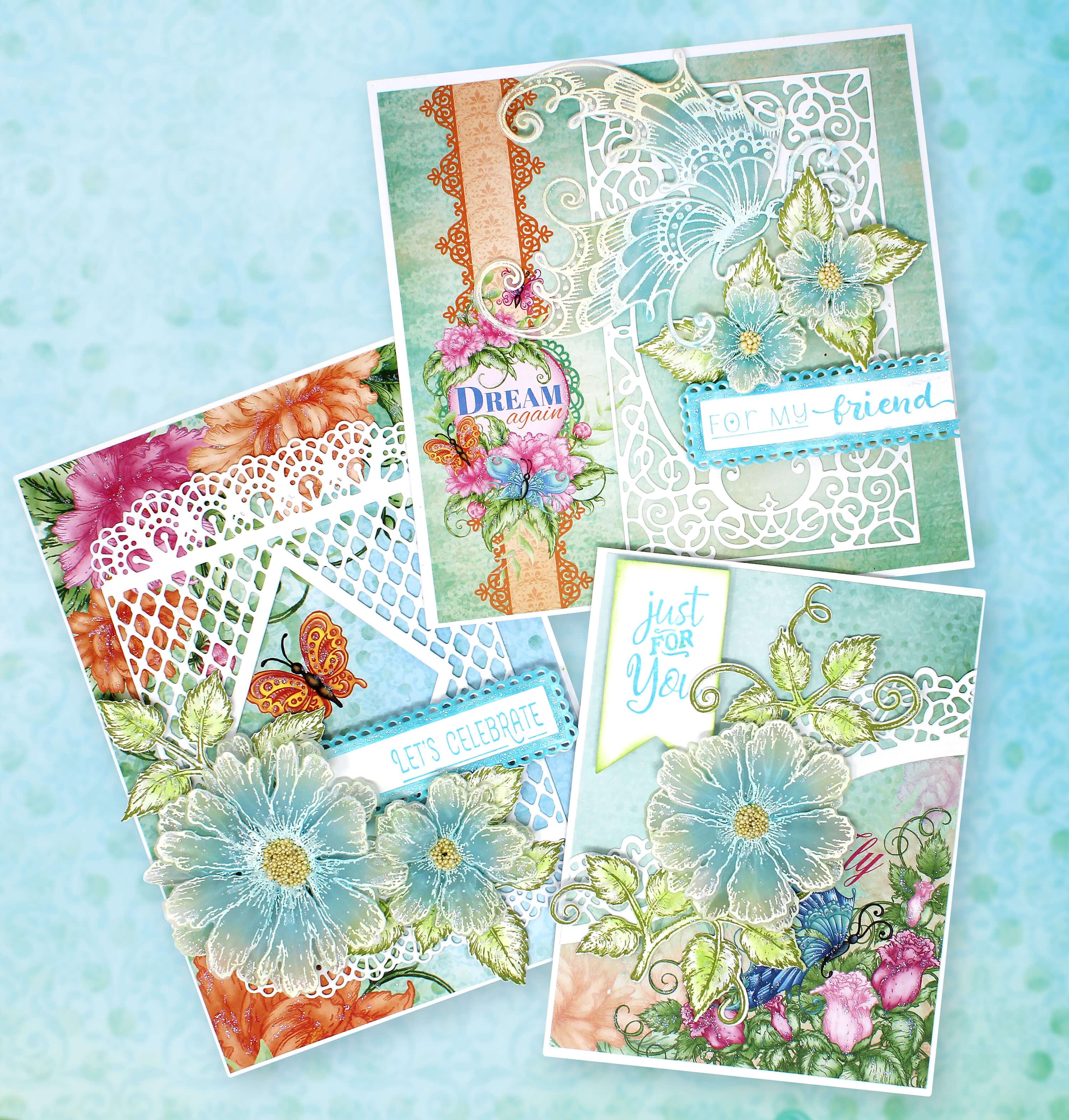 _Elegant Vellum Floral Cards