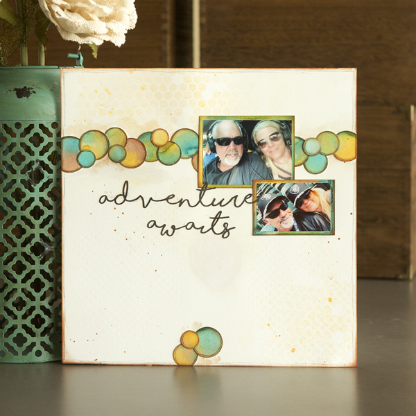 _Mixed Media Scrapbook Layouts