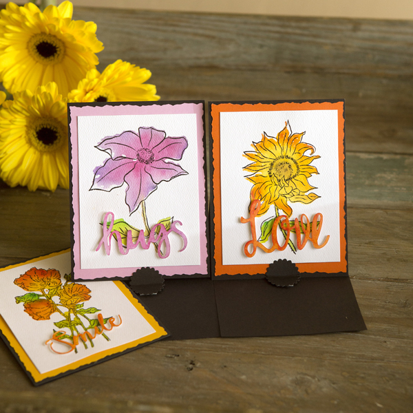 _Watercolor Flower Stamping