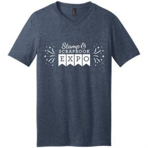 Stamp & Scrapbook Expo T-Shirt Blue
