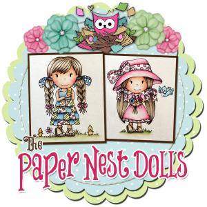 Paper nest dolls logo
