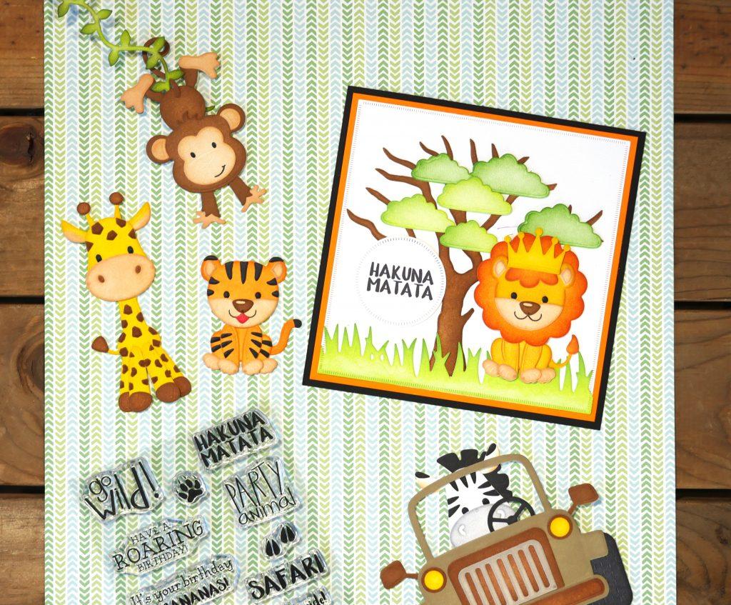 National Stamp Scrapbook Month Elizabeth Craft Designs Giveaway