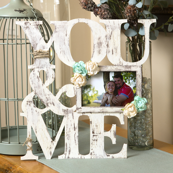 _You & Me Wood Frame