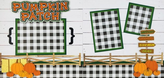 Workshop Pumpkin Patch by The Paper Wizard