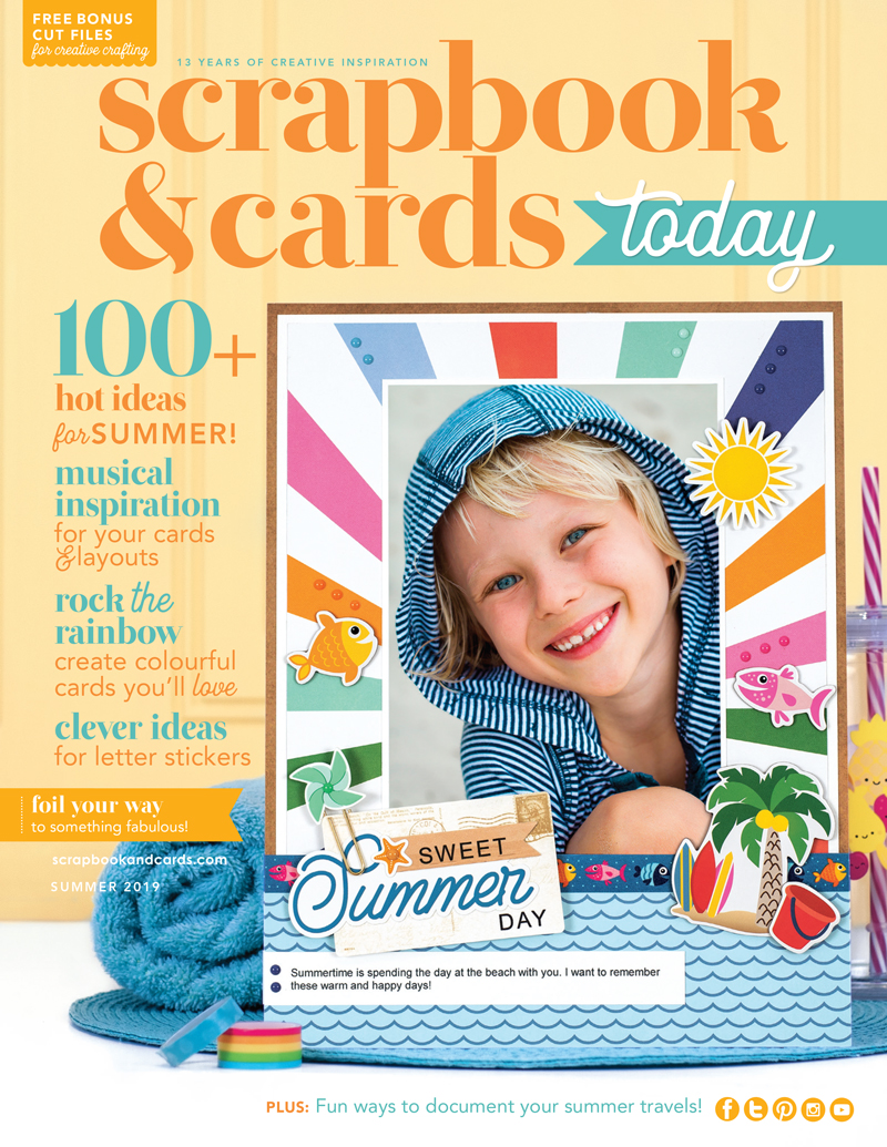 Scrapbook & Cards Today - Summer 2019 Issue