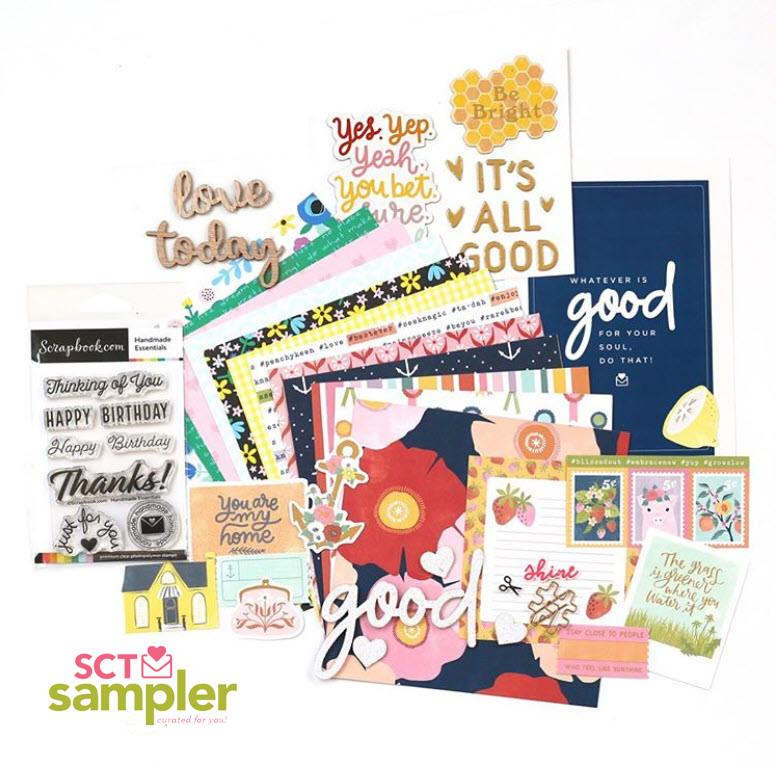 Scrapbook & Cards Today - June 2019 Sampler