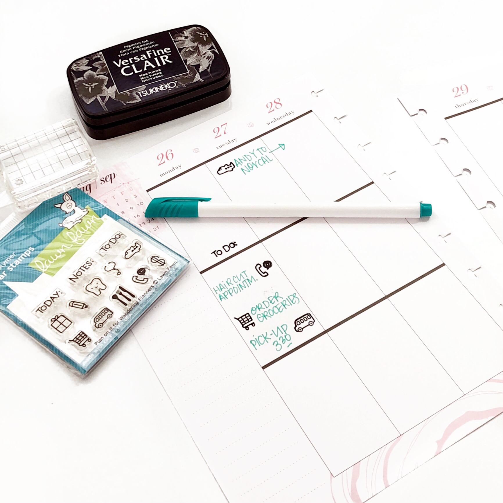 Happy Planner Stamps Decorative and Functional