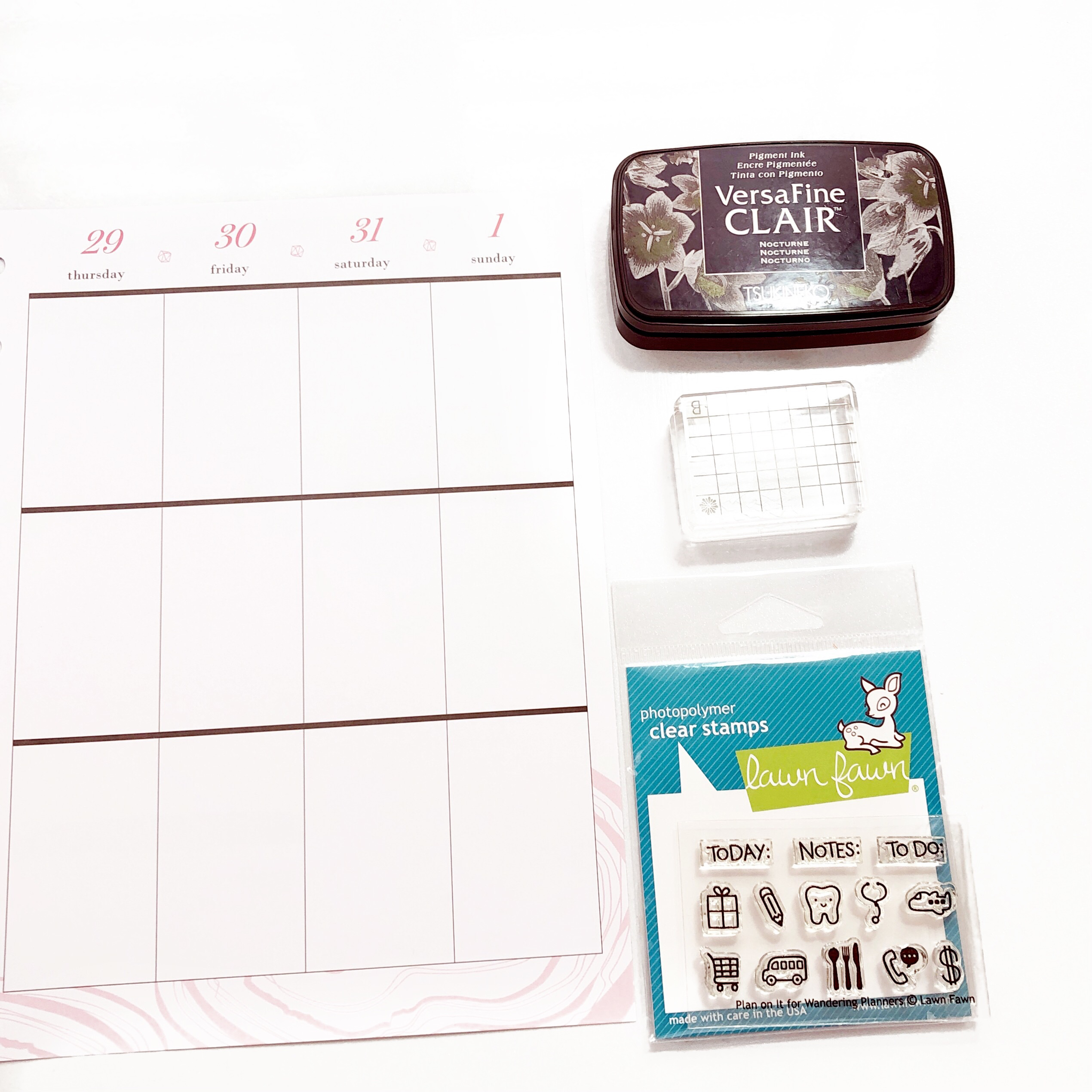 Happy Planner Stamps Functional and Decorative