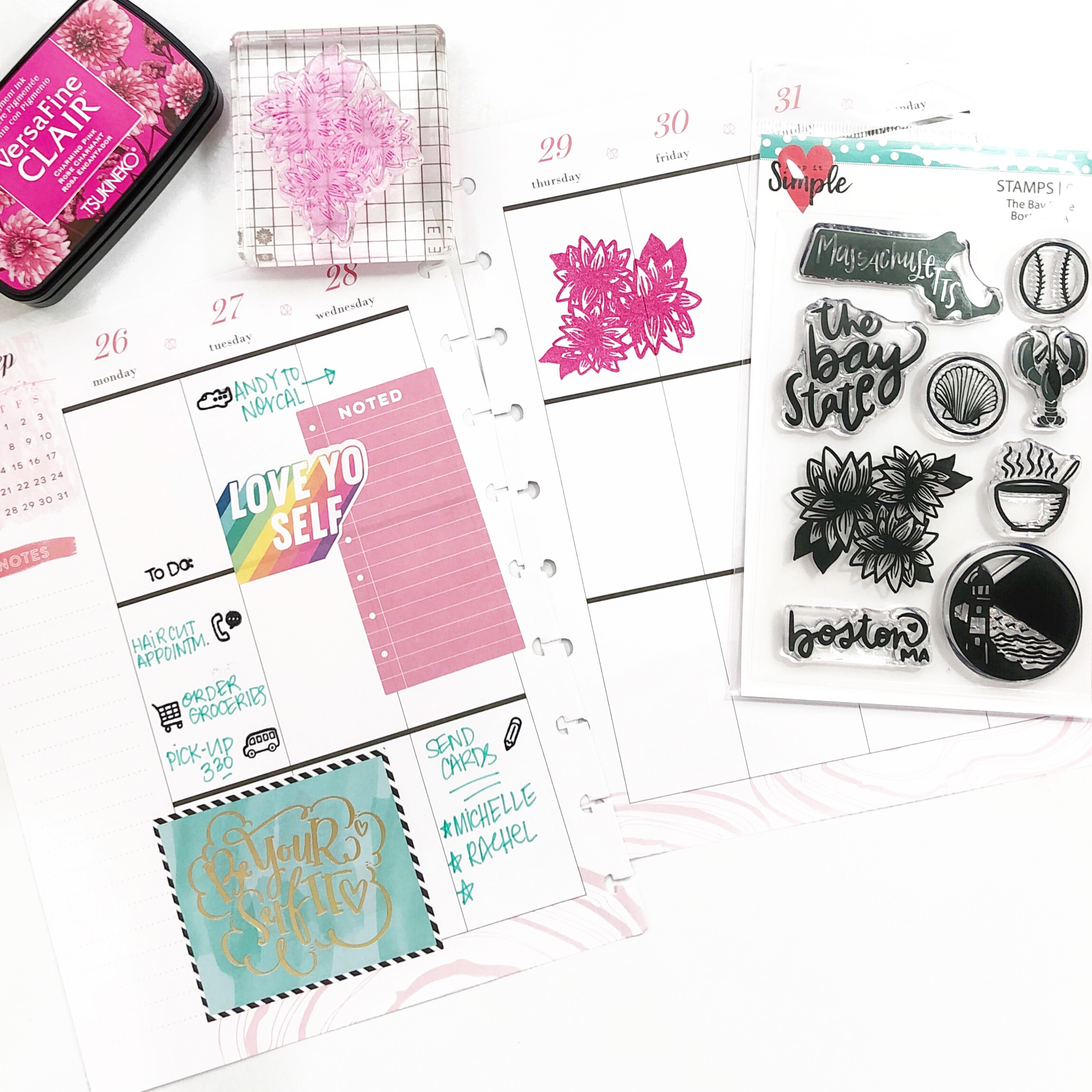 Planner Stamps Stamping and Stickers Functional and Decorative