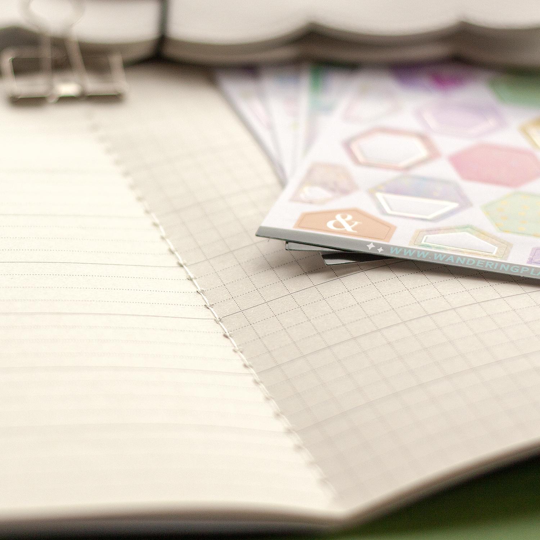 travelers notebook insert hobonichi weeks planner stickers