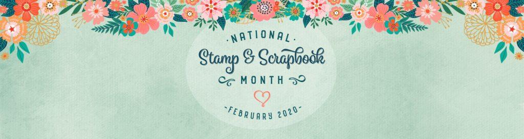 NSSM National Stamp & Scrapbook Month 2020