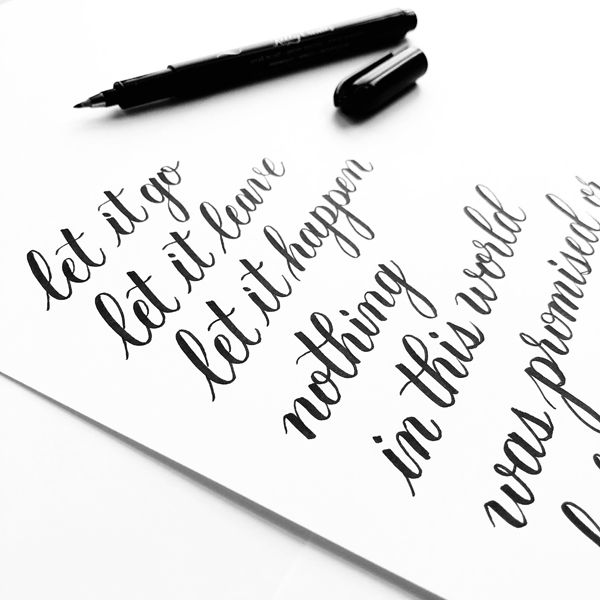 _Beginner Brush Lettering