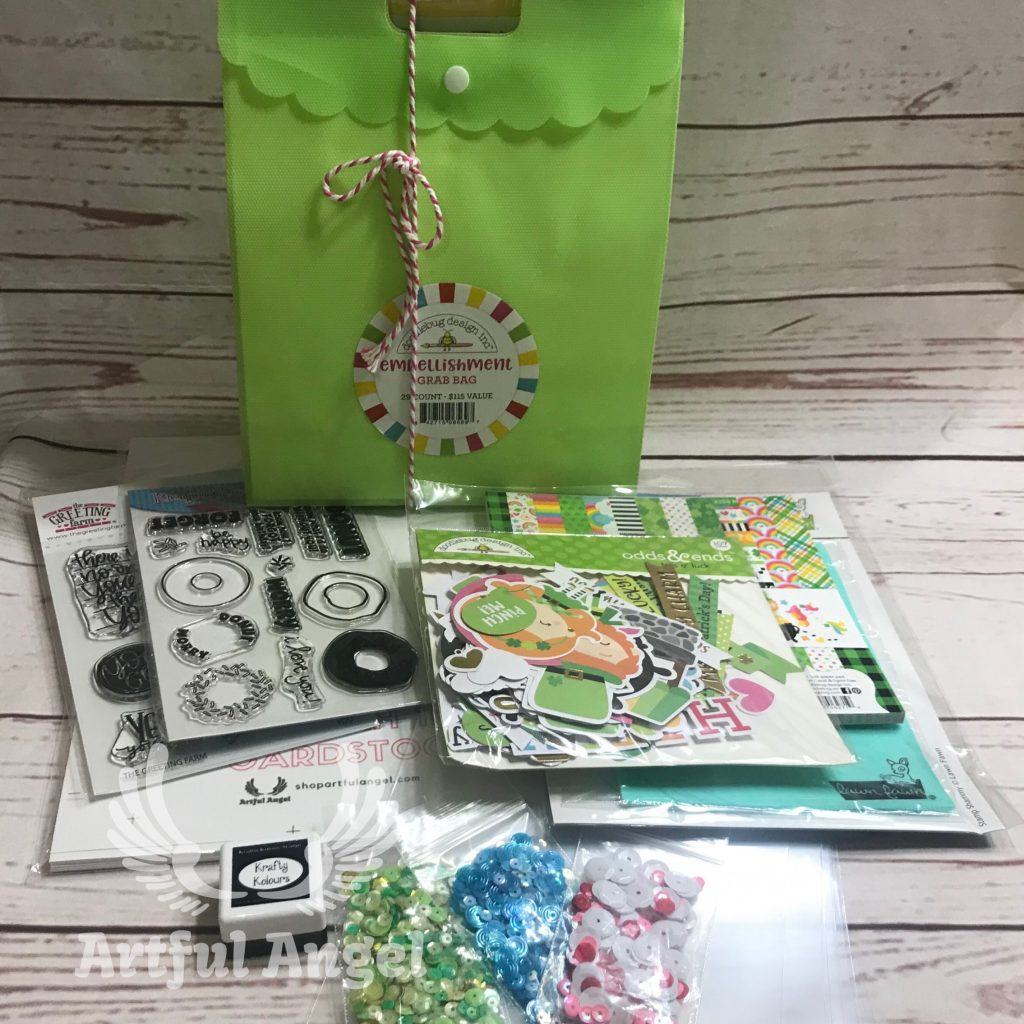 Stamp and Scrapbook Expo Artful Angel Giveaway Prize
