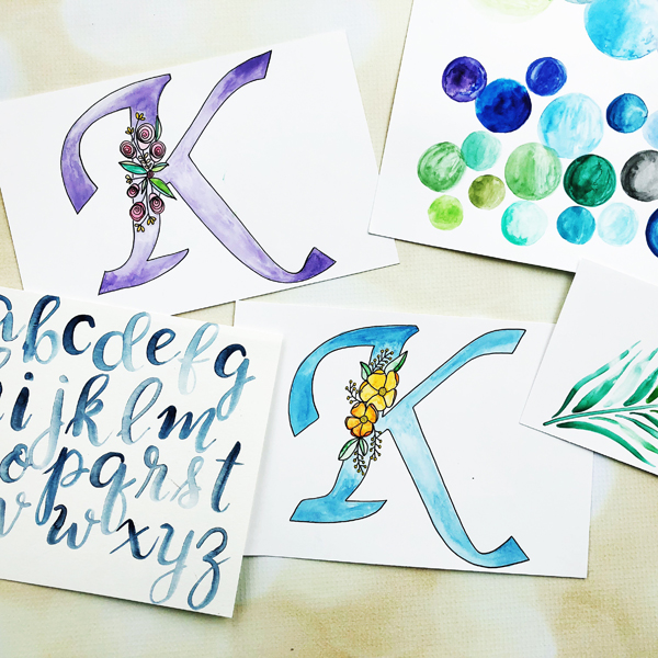 _The Beauty of Watercolor Lettering
