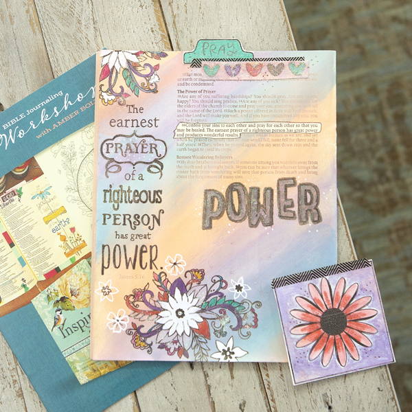 _#allthethings Advanced Bible Journaling