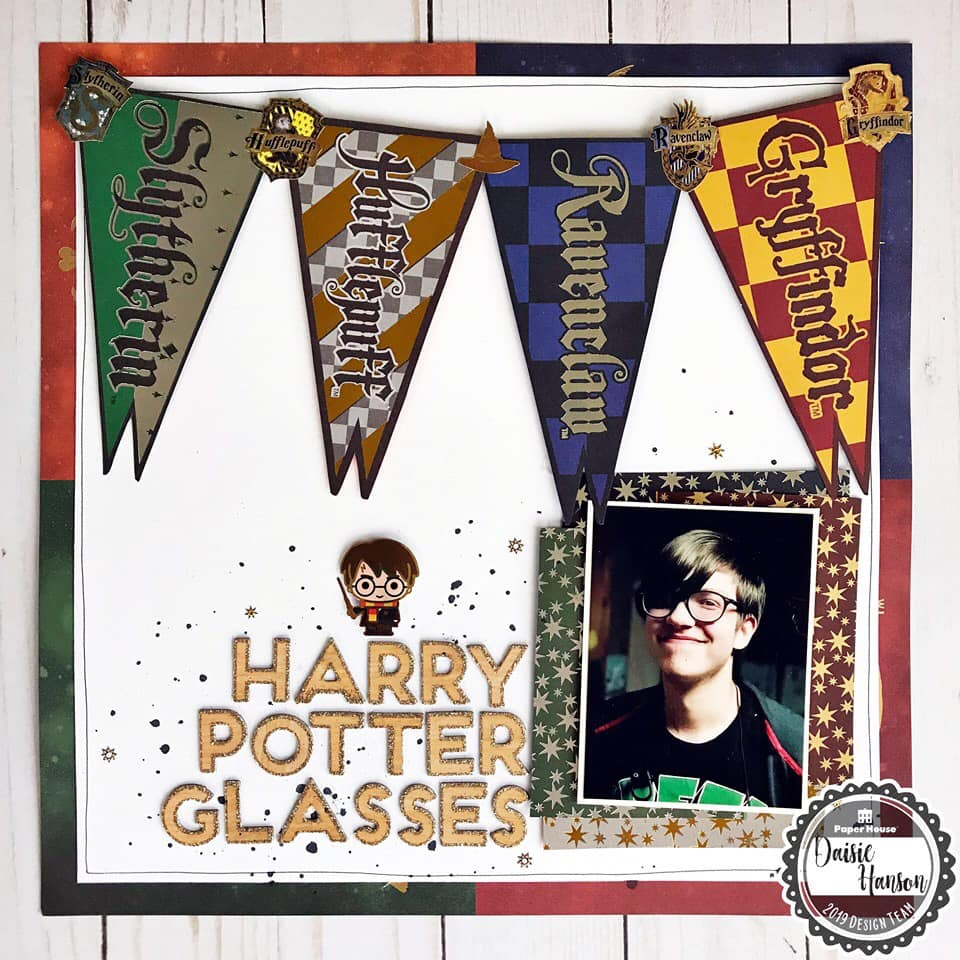 Stamp and Scrapbook Expo Paper House Productions Harry Potter