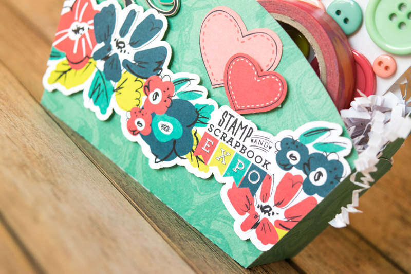 Table Mate Gift Idea by @beckiadams for @scrapbookexpo and @keepitsimplepaper #ssbe2020 #keepitsimplepaper #gift #DIY