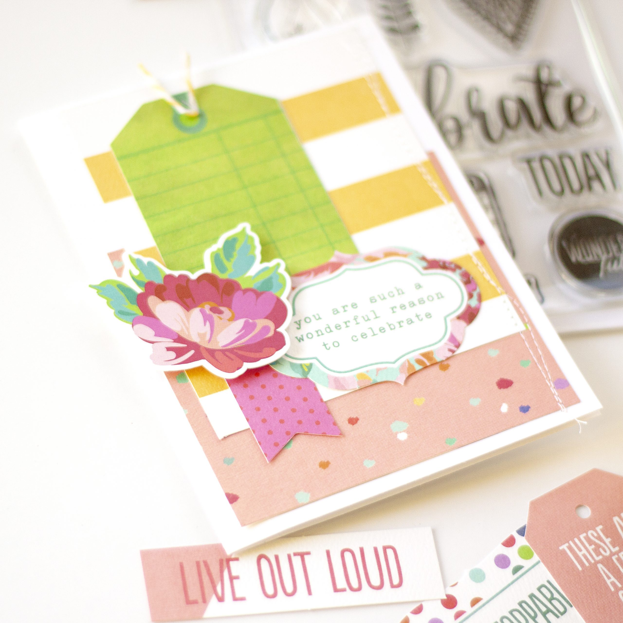 Jennie McGarvey Keep It Simple Card