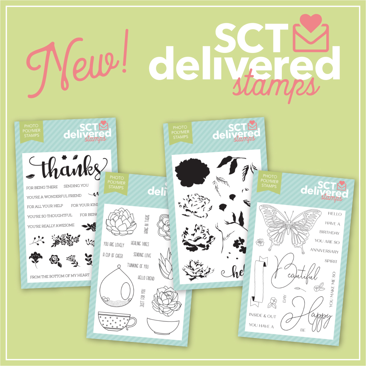 Scrapbook & Cards Today Stamp Set