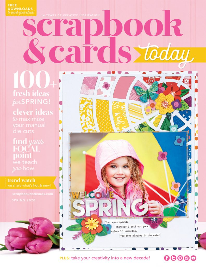 Scrapbook & Cards Today - Spring 2020 issue