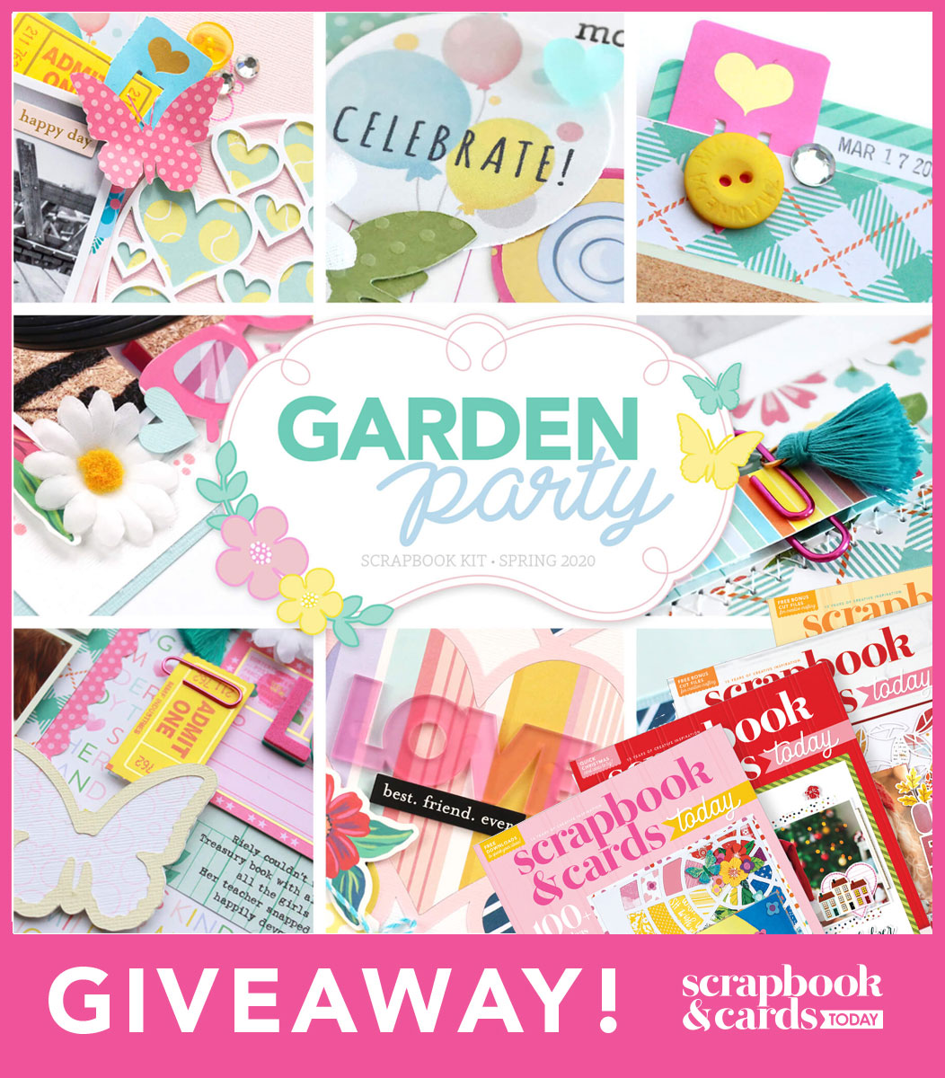 Scrapbook & Cards Today prize pack