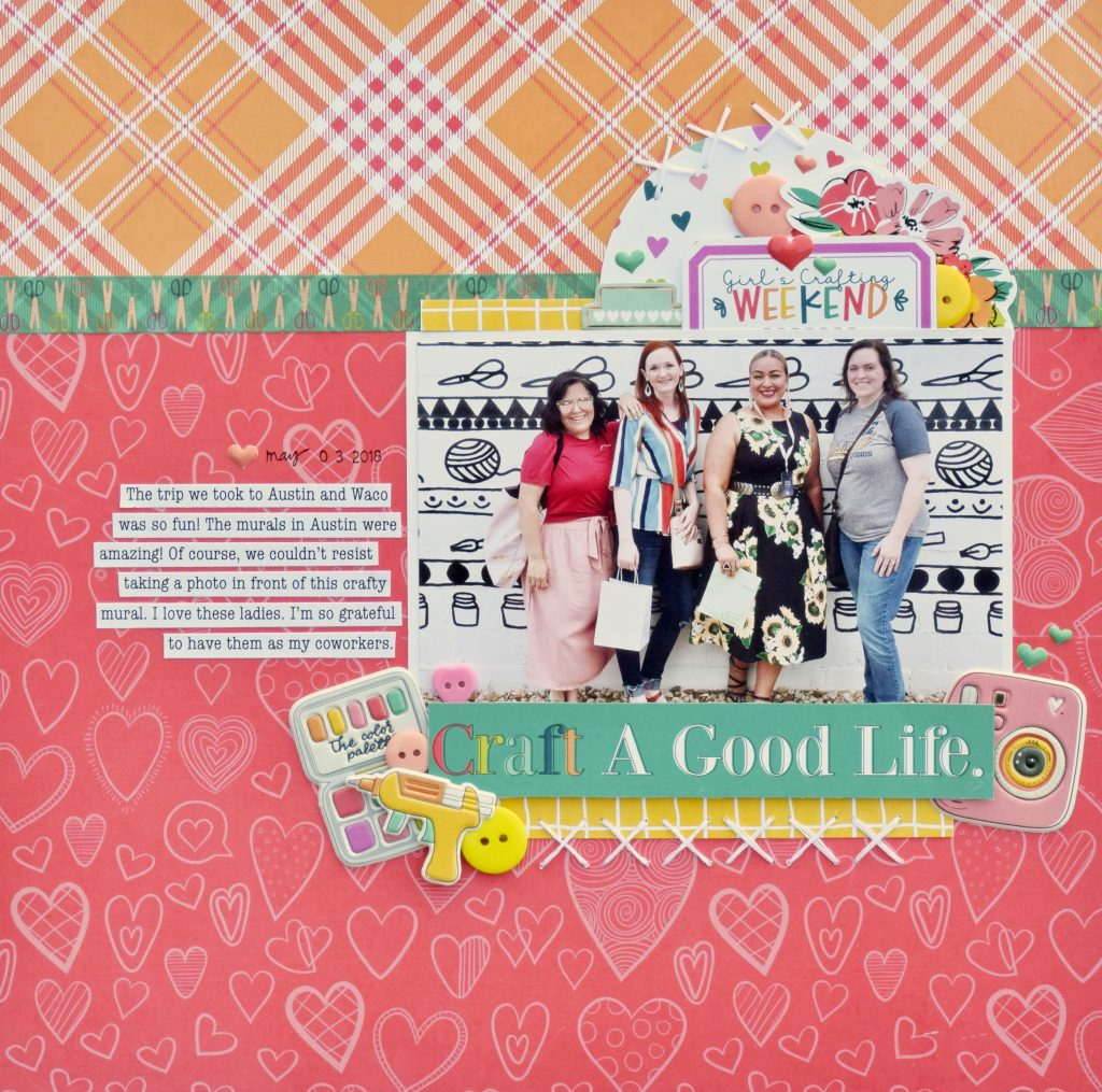 Becki Adams_Craft a Good Life_Crafty Girls Collection