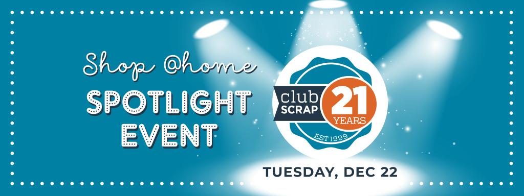 Spotlight Event - Club Scrap