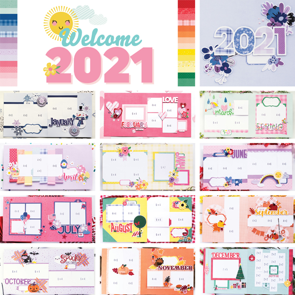 _Welcome 2021: A Year of Layouts
