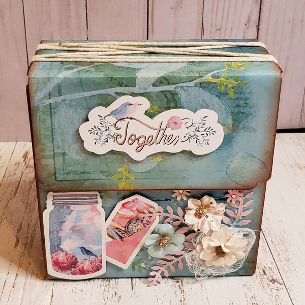 _Vintage Magnetic Filer Album