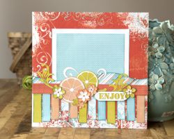 A to Z Scrapbooking Scrapbook Page