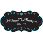 Its Cheaper Than Therapy Logo